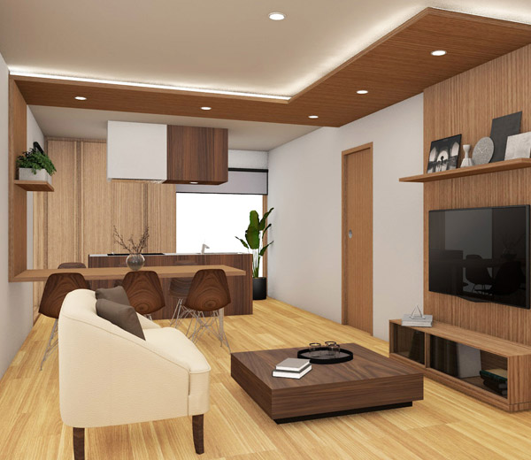 House LDK interior