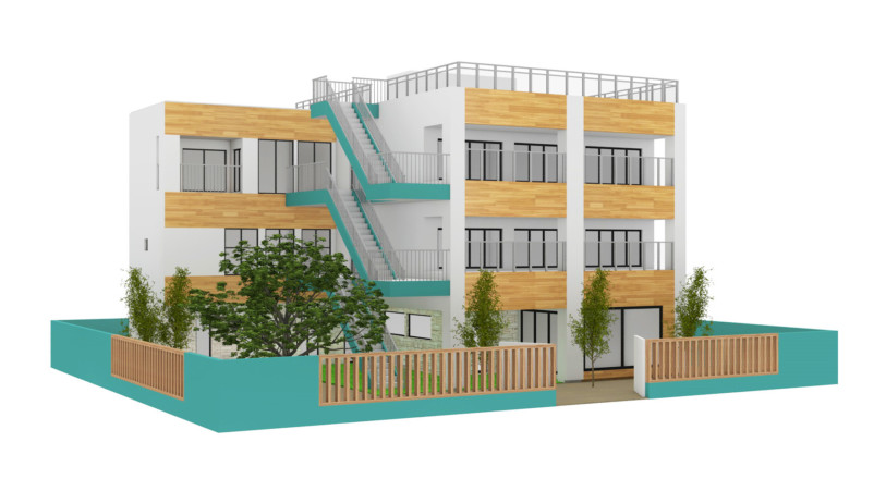 Nursery school exterior – Yu Hiraoka Design