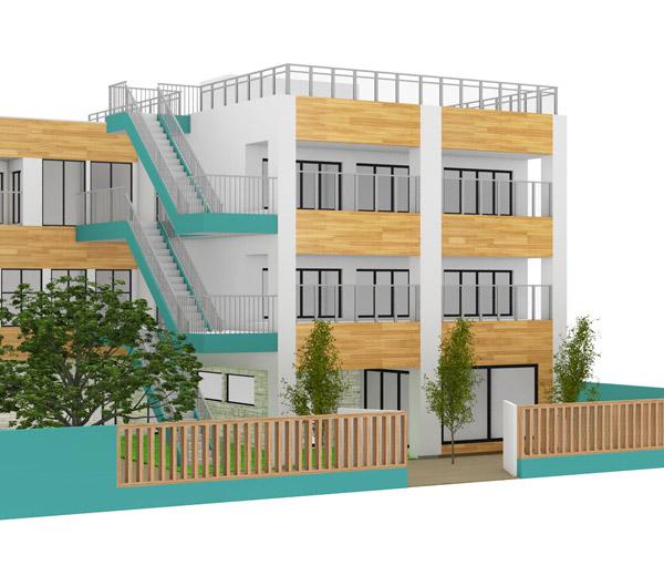Nursery school exterior