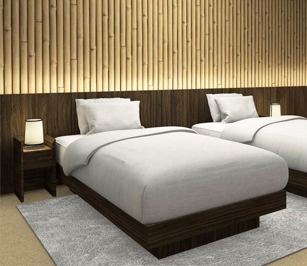 Oriental hotel room